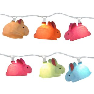 The Holiday Aisle Rabbit 10 Light Novelty String Light