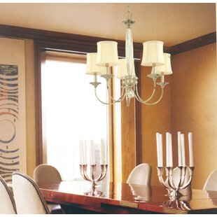 Darby Home Co Elburn 5-Light Shaded Chandelier