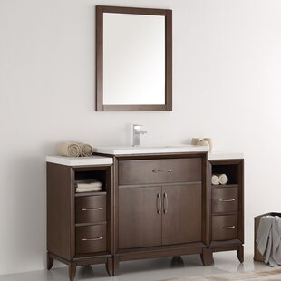 Cambridge 54 Single Bathroom Vanity Set with Mirror by Fresca