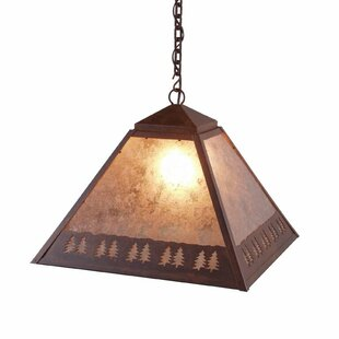 Steel Partners Band of Trees 1-Light Dome Pendant