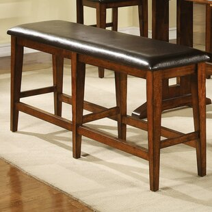 Nashoba Upholstered Bench by Loon Peak