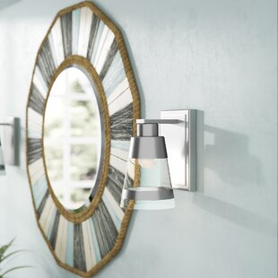 Jacey 1-Light LED Armed Sconce by Breakwater Bay