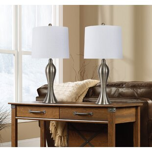 Winston Porter Tressie 2 Piece Table and Floor Lamp Set (Set of 2)