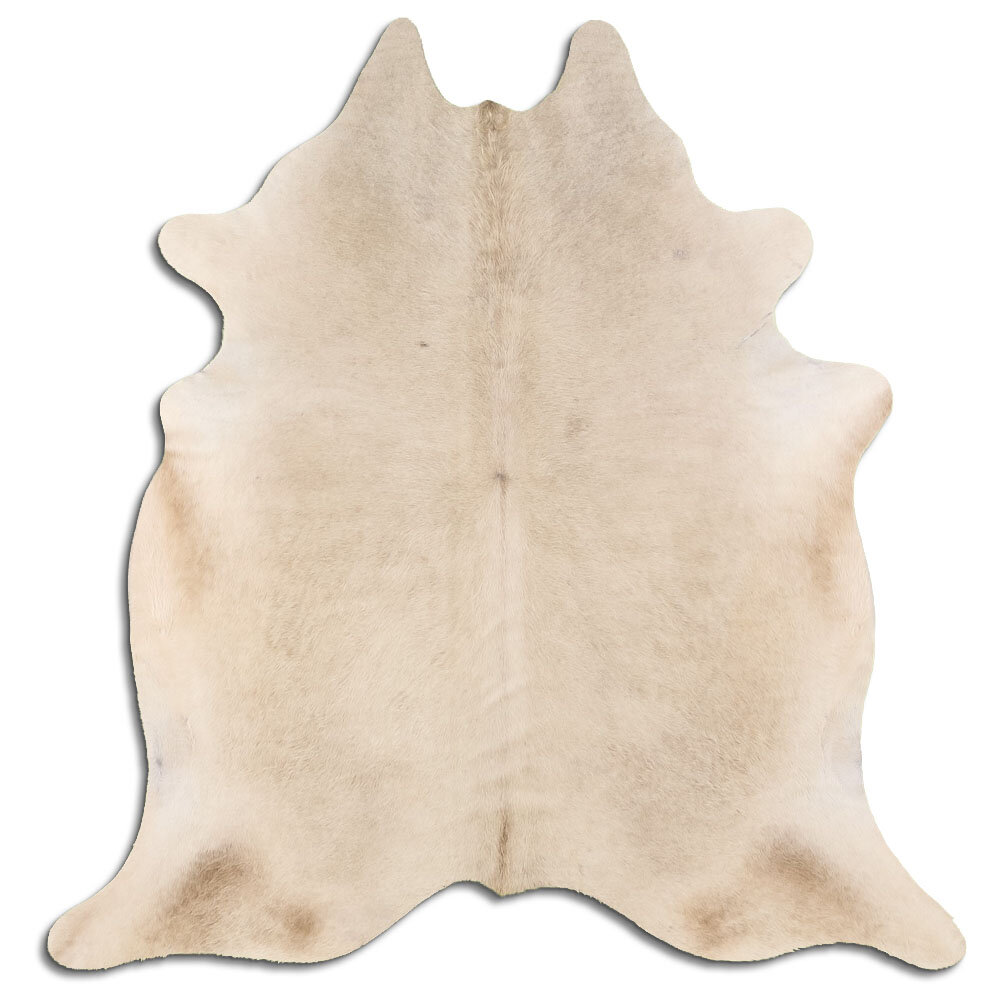 Foundry Select Pharr Handmade Cowhide Beige Area Rug Wayfair