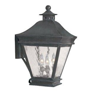 Darby Home Co Lockwood 3-Light Outdoor Wall Lantern