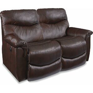 James  LA-Z-TIME? Full Reclining Loveseat by La-Z-Boy
