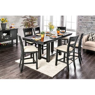 Aiden 7 Piece Extendable Dining Set Gracie Oaks
