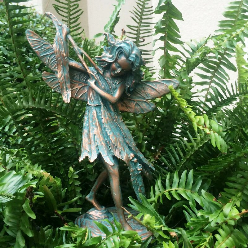 homestyles suffolk fairy samantha statue reviews wayfair suffolk fairy samantha statue