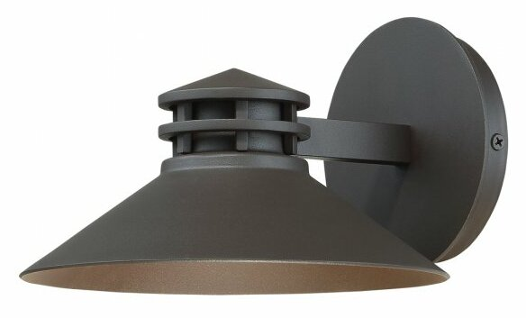 Sodor 1 light led outdoor sconce reviews allmodern sodor 1 light led outdoor sconce mozeypictures Choice Image