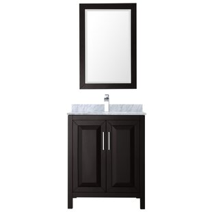Daria 30 Single Bathroom Vanity Set with Mirror By Wyndham Collection
