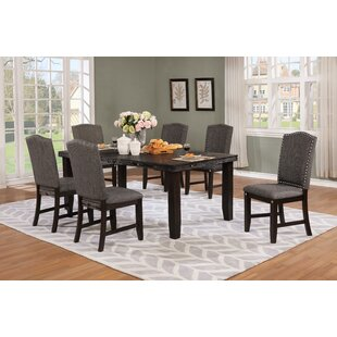 Dutchess 7 Piece Solid Wood Dining Set DarHome Co