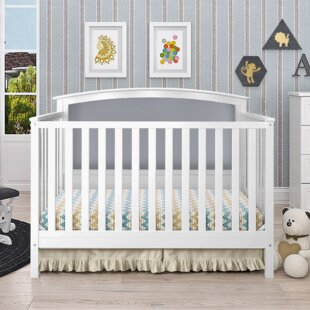 Esquina 4-in-1 Convertible Crib By Harriet Bee