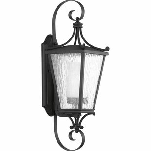 Online Reviews Alexandra 1-Light Wall Lantern By Fleur De Lis Living