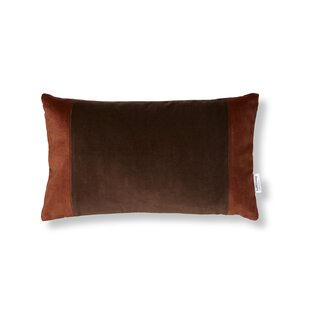 Delaplaine Velvet Lumbar Pillow