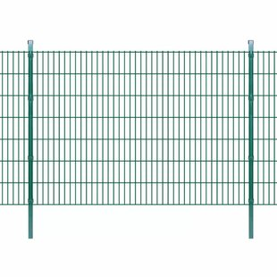 Cletus 2D 66' X 5' (20m X 1.43m) Picket Fence Panel By Sol 72 Outdoor