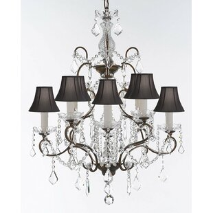 Rosdorf Park Linquist 8-Light Shaded Chandelier