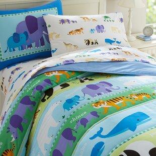 Wildkin Olive Kids Endangered Animals Comforter Collection