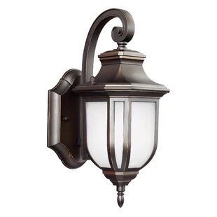 Check Prices Teri 1-Light Outdoor Wall Lantern By Fleur De Lis Living