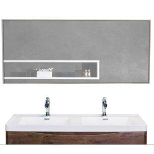 Sax Bathroom Wall Mirror by Eviva