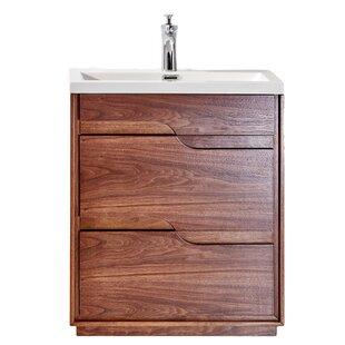 Ormes Wenge 26 Single Bathroom Vanity Set