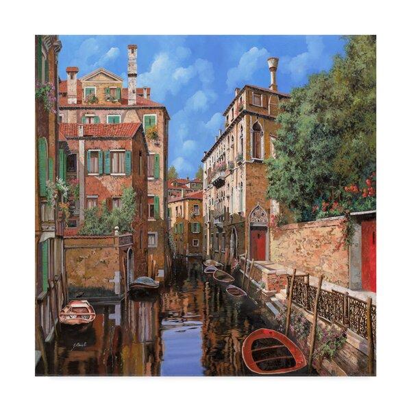 Trademark Art Luce A Venezia Acrylic Painting Print On Wrapped Canvas Wayfair