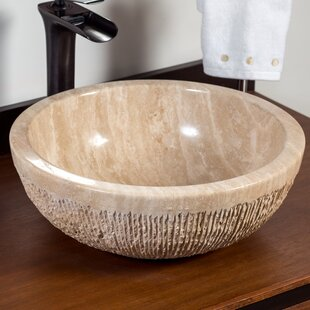 Read Reviews Mus Stone Circular Vessel Bathroom Sink By Laguna Marble
