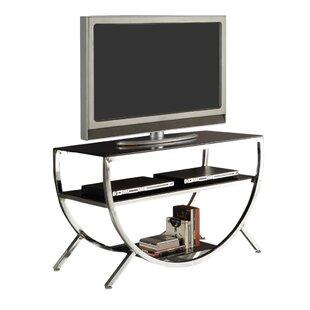 Glass And Chrome Tv Stand Wayfair