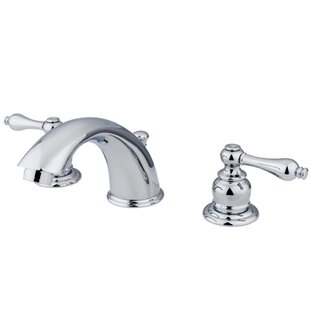 Kingston Brass Victorian Widespread Bathroom Faucet with Drain Assembly Image