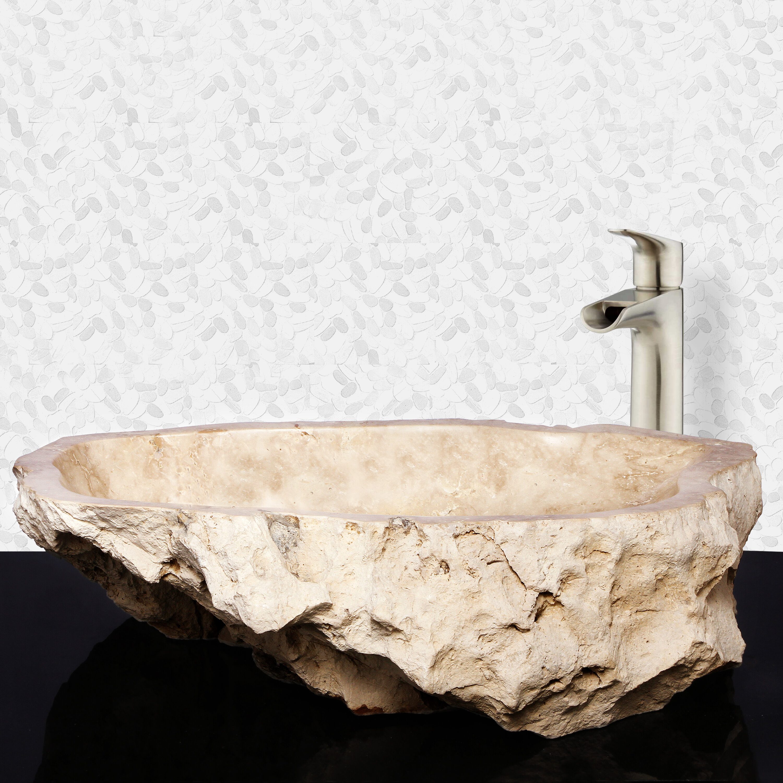 Barclay Elbrus Stone Specialty Vessel Bathroom Sink Wayfair