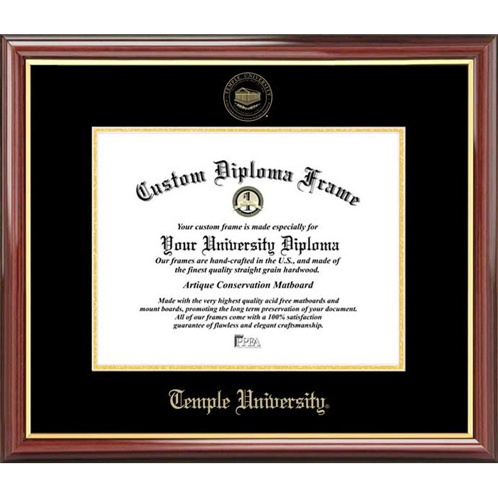 "1 1//4/"" Black Wood Diploma Frame Great Deal//Perfect Look"