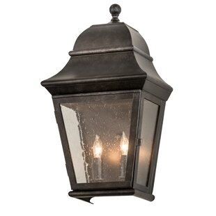 Great choice Unionstone 2-Light Outdoor Flush Mount By Canora Grey