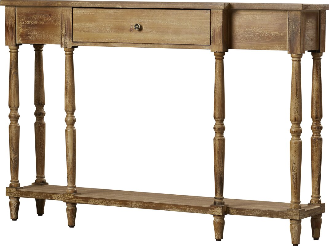 Extra tall console table wayfair lisette console table geotapseo Gallery
