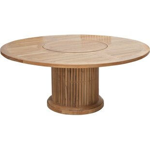 Woodsdale Teak Dining Table By Sol 72 Outdoor