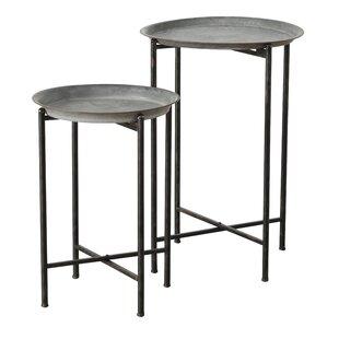 Esser Slim Line 2 Piece Nesting Tables
