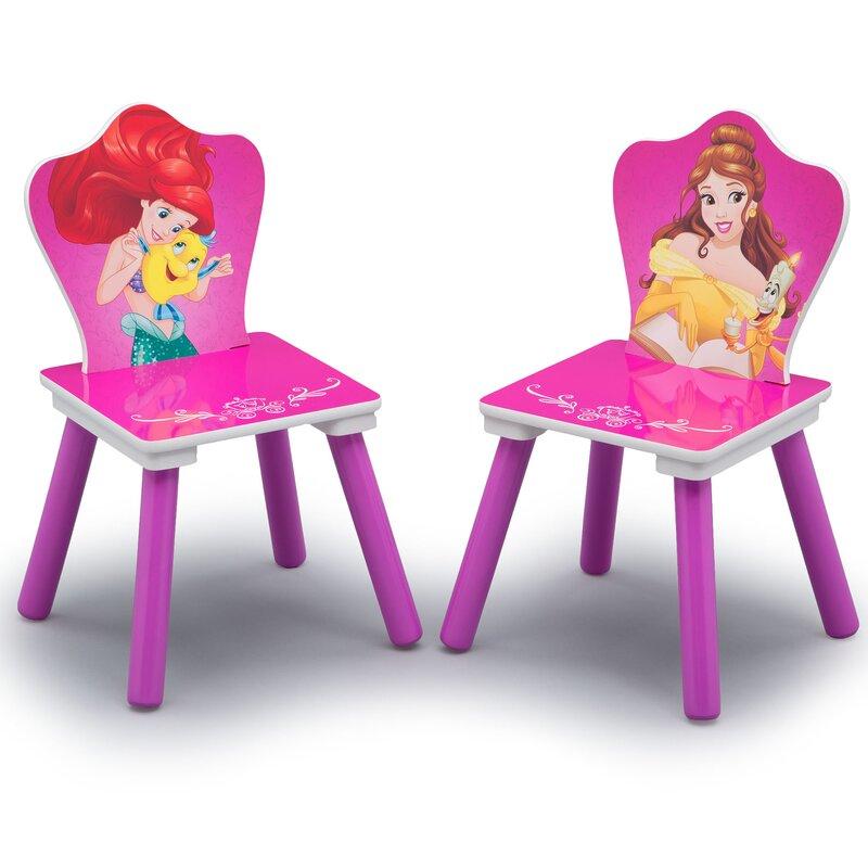 Disney Princess Arts and Crafts Table and Chair Set  sc 1 st  Wayfair & Delta Children Disney Princess Arts and Crafts Table and Chair Set ...