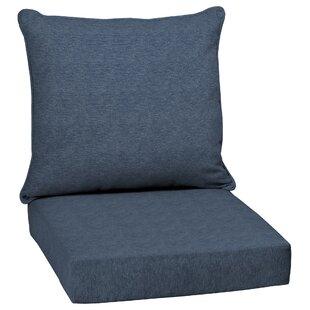 Tan Texture Outdoor Lounge Chair Cushion