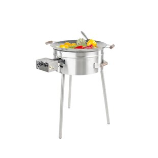 55cm Wok 2-Burner Liquid Propane Barbecue Grill By GrillSymbol