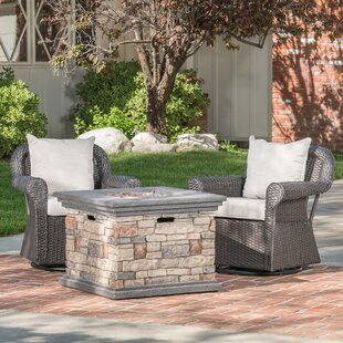 Darby Home Co Melinda Patio Chair with Cu..