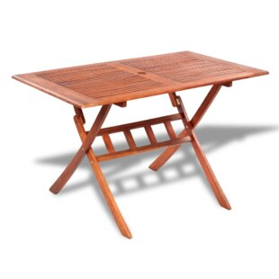 Folding Wooden Dining Table by..