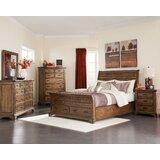 Clemmer Sleigh Solid Wood Configurable Bedroom Set by Loon Peak