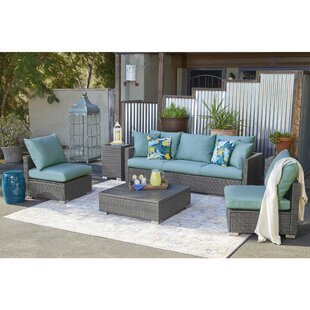 Sarver 3 Piece Sofa Set with Cushions