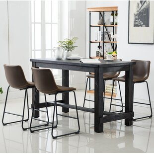 Shoemaker 5 Piece Counter Height Dining S..