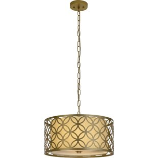 House of Hampton Keiser 1-Light Drum Pendant