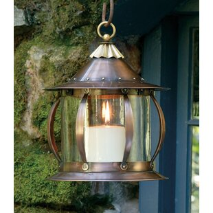 H. Potter San Simeon 1-Light Outdoor Hanging Lantern