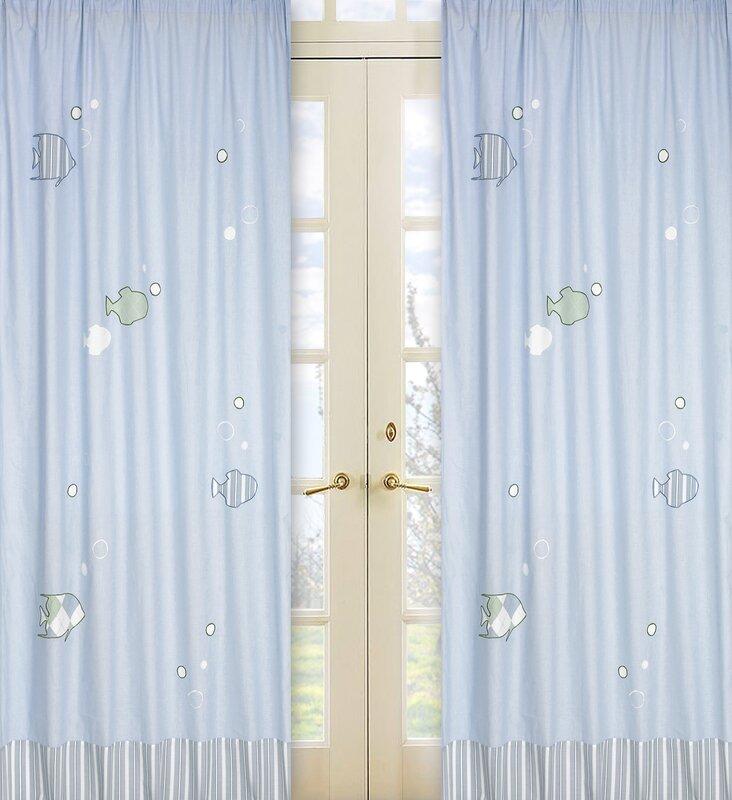 Go Fish Shower Curtain from Wayfair!