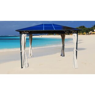 Hofmann 3.5m X 2m Steel Patio Gazebo By Sol 72 Outdoor