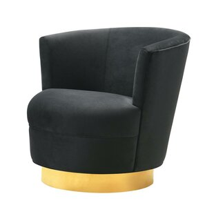 Langridge Swivel Barrel Chair by Mercer41
