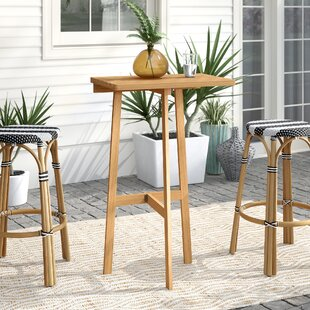 Ricci Folding Solid Wood Balcony Table