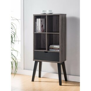 Brayden Studio Franks Cube Unit Bookcase with Flared Legs