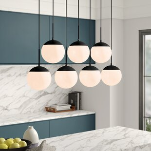 Yearby 7-Light Kitchen Island Pendant by Mercury Row